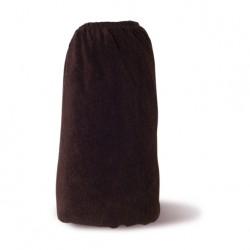 HOUSSE DE TABLE T1 Chocolat avec trou visage