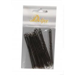 Pinces ondulées - 250pcs - Noir