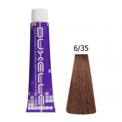 Coloration Duxelle blond foncé doré acajou 60 ml 6.35