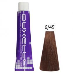 Coloration Duxelle blond foncé cuivré acajou 60 ml 6.45