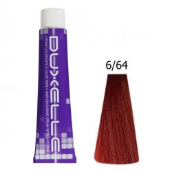 Coloration Duxelle blond foncé rouge cuivré 60 ml 6.64
