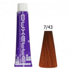 Coloration Duxelle Blond cuivré doré 60 ml 7.43
