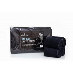 Serviettes lot 4 serviettes 70x20cm noires